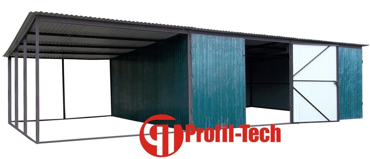 RAL 7016 9x5 Blechgarage Fertiggarage Metallgarage LAGERRAUM GERÄTESCHUPPEN
