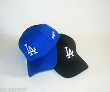 Los Angeles Dodgers Cap Hat One Size Pick Your Color!! Black Blue New!!