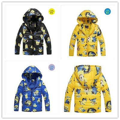 Cosplay Boys Kids Wadded Jacket Cotton-padded Clothes Coat Outwear