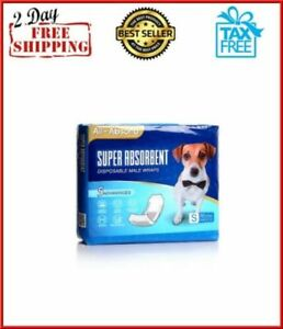 50-Pack-small-Size-Waist-Disposable-Dog-Diapers-Male-Wraps-Belly-Bands-Pet-Soft