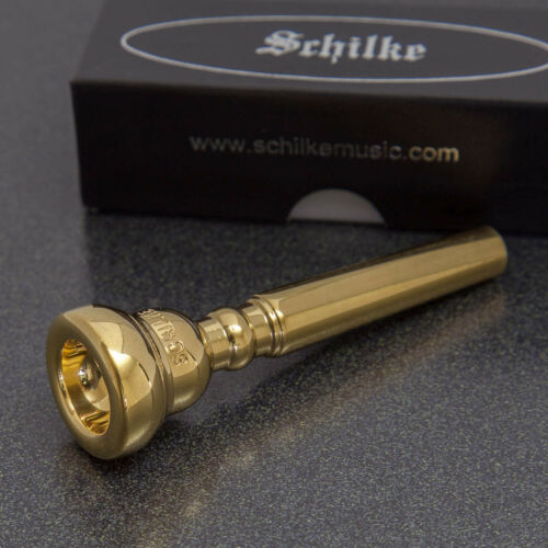Genuine Schilke 24K Gold Trumpet Mouthpiece 13B NEW Ships Fast!