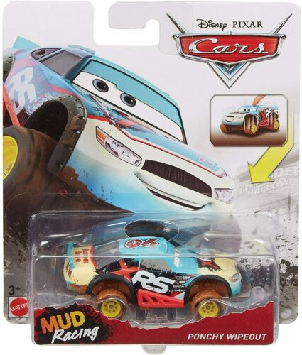 DISNEY PIXAR CARS XRS MUD RACING PONCHY WIPEOUT BUMPER SAVE SAVE 8/%