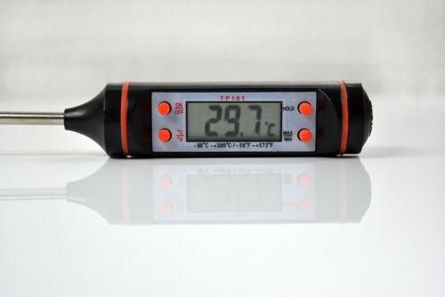 Digital LCD Barbecue Thermometer Probe Kitchen Cooking Food Meat BBQ Tools