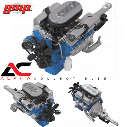 GMP 18855 1:18 1967 FORD FAIRLANE 427R ENGINE /& TRANSMISSION PLUMBED//WIRED