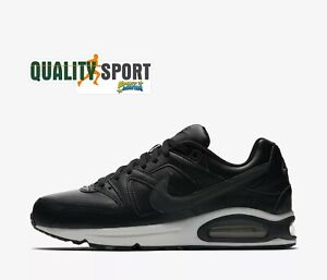 Details about Nike Air Max Command Black Leather Men's Shoes Sports Sneakers 749760 001 2019