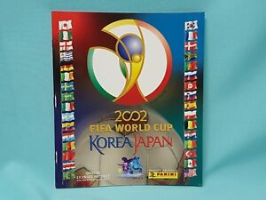 Panini-WM-2002-Korea-Japan-World-Cup-Sticker-Sammelalbum-Album-Leeralbum