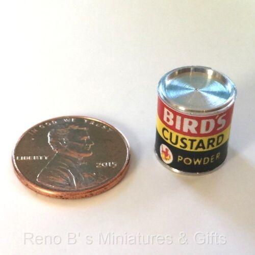 Dollhouse miniatures 1:12 Bird/'s Custard Powder 1940s