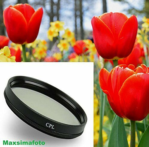Maxsimafoto 46mm CPL Filter for Panasonic HDC-TM900 HS900 SD909 SD800 HDC-SDT750