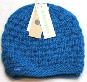 f634aafc97b Image is loading Burton-Girls-Lil-Bertha-Beanie-Athens-Blue-One-