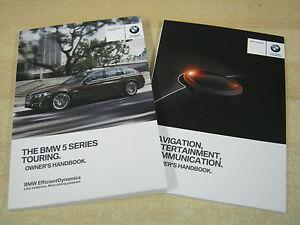 bmw 5 series estate touring genuine handbook owners manual 2013 2015 rh ebay co uk 2014 BMW 5 Series GT 2014 BMW 5 Series GT