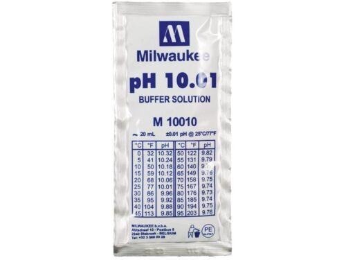 Milwaukee Buffer Solution pH 10.01 M10010 Lot of 3