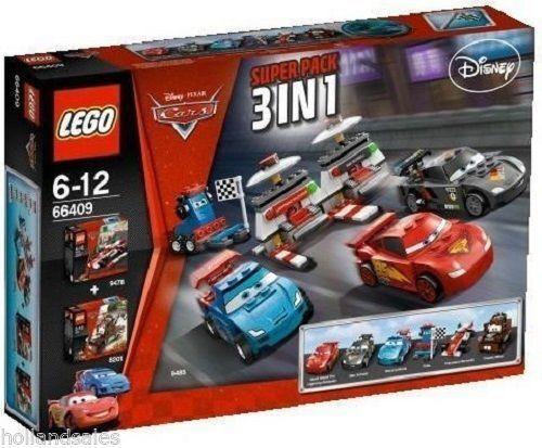 LEGO® Cars 66409 SP 9485 + 9478 + + + 8201 Wettrennen Francesco Bernoulli NEU NEW 97dad4