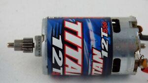 Motor-Electrico-Traxxas-3785-cepillado-Titan-12T-550-16-T-PINoN-Slash-RC-coche-de-juguete