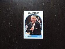 1989 1990 NBA Hoops Announcer Card Bill Raftery Nets Promo Basketball Card