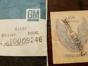 NOS-GM-Trans-am-1979-10th-Anniversary-Spoiler-Decal-10009246