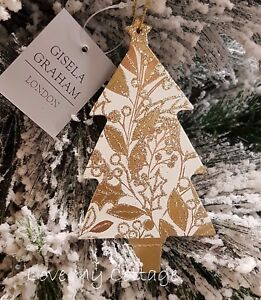 image is loading gisela graham christmas tree decoration sparkling rose gold