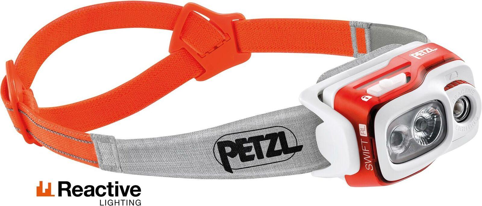 Petzl Swift RL 900 Lumen orange   Fishing Headlamp