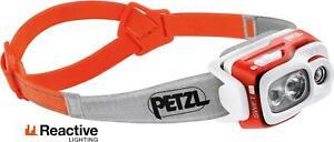 Petzl Swift RL 900 Lumen Orange / Fishing Headlamp