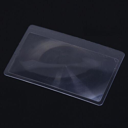 2pcs card magnifier multi tools pocket reading survival  camping travel kit LL