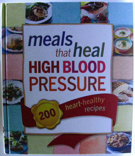 1 of 1 - #ST4,, R D Staff MEALS THAT HEAL HIGH BLOOD PRESSURE, HC VGC Postage Fast & FREE