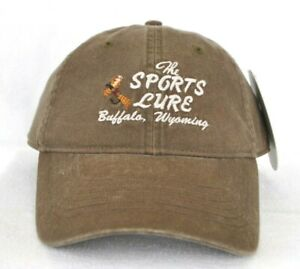 b9182622778f0 THE SPORTS LURE BUFFALO WYOMING  Fly Fishing Ball cap hat  OURAY ...