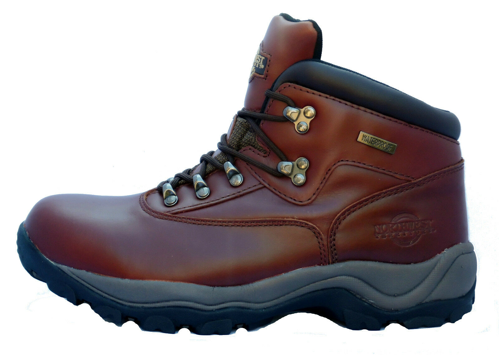 Para hombres Cuero Northwest Territory Senderismo Excursionismo Trekking Inuvik botas De Reino Unido 9 - 12