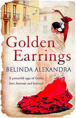 """AS NEW"" Golden Earrings, Alexandra, Belinda, Book"