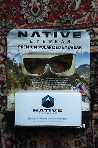 fd1707a10c7 Image is loading NEW-NATIVE-EYEWEAR-ROAN-SUNGLASSES-premium-polarized -Oakley-