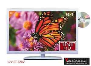 Combine-TV-BLANCHE-TNTHD-DVD-LED-19-034-48CM-HD-USB-CAMPING-CAR-12V-220V