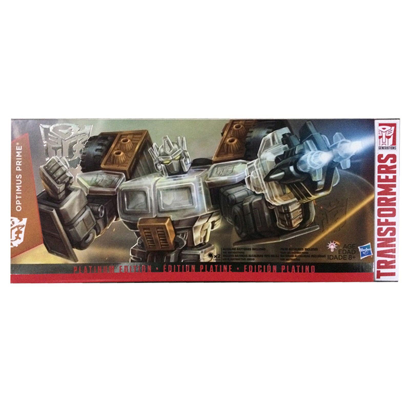 Transformers Collection  Platinum Edition G2 Laser Optimus Prime Gift