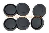 Lens Rear Cap And Body Cap For Sony Nex-3c Nex-3n Nex-5 Nex-5c Nex-5n X 3 Pcs