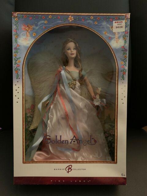 NEW Mattel Barbie Pink Label Collector Golden Angel Doll J9187 New