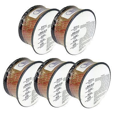 5 x 2lb .035 E71T-11 Flux Cored Gasless Weld Wire 5 Rolls