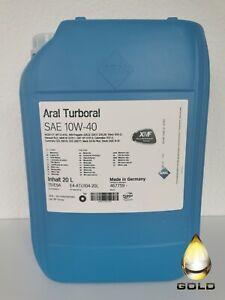 10W-40-ARAL-Turboral-1-x-20-L-Motorenoel