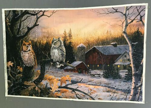 Naturescapes Nightfall Northcott Owls Farm Terry Doughty DP22463