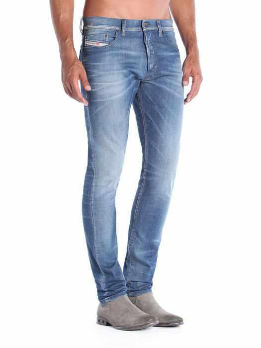 DIESEL  Tepphar  Stretch Cotton Slim-Carred Leg bluee Jeans 0831D NEW NWT