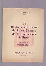 GG Beselier La Basilique en Fleurs de Sainte Therese de l'Enfant Jesus, 1930