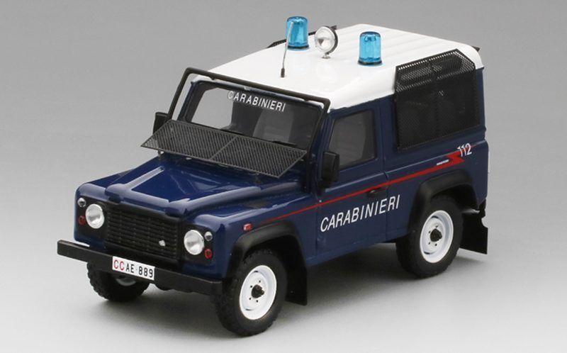 43 90 Station Carabinieri 1 Wagon Land Model Defender Rover XZTkuPOi