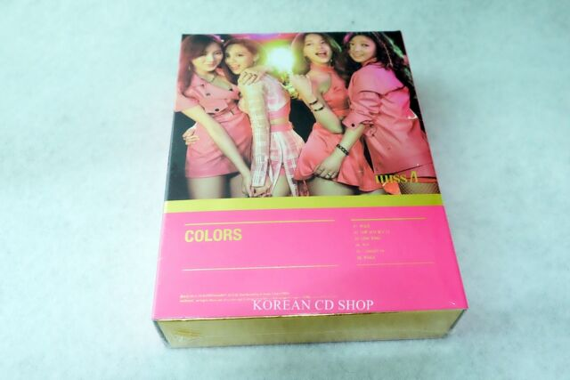 Miss A - the 7th project - Colors CD + FREE GIFT  *SEALED* $2.99 S/H