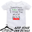 Personalised-Custom-BabyGrow-Vest-Bodysuit-Puke-Just-Like-Auntie-Uncle-Daddy-Mum thumbnail 4