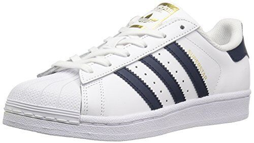 adidas Originals Boys Superstar Foundation J Sneaker Pick SZColor.