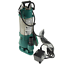IBO Schmutzwasserpumpe Fäkalienpumpe Schneidmesser Tauchpumpe INOX 7200l//h v550