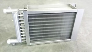 Wärmetauscher Luft/Wasser Heizer Kühler Rohre V2A Lamellen V2A ...