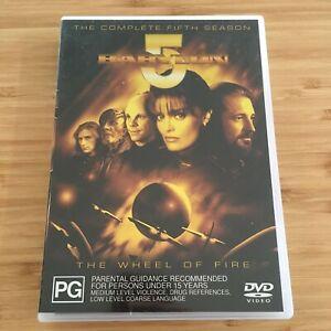 Babylon-5-Complete-Season-Five-5-6-Disc-DVD-Set-PAL-Region-4-Like-New