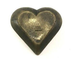 Vintage-Old-Israeliana-Solid-Brass-Ashtray-Rare-Signed-Stamped-Omanut-Klein-Komm