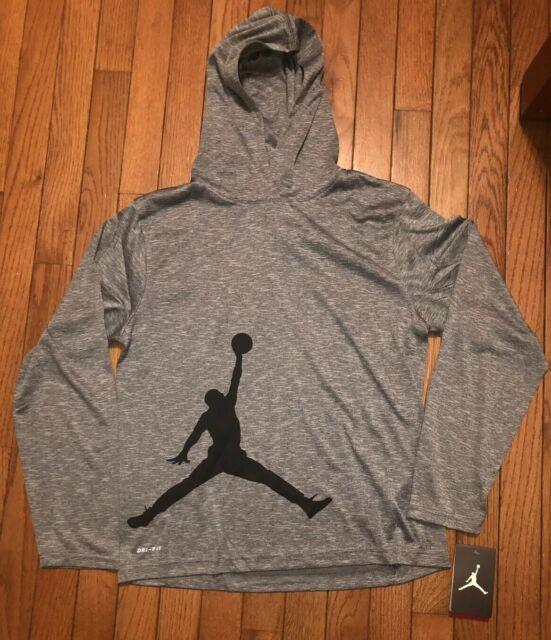 Nike Air Jordan Boys Dri-fit Hoodie