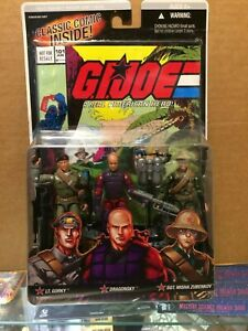 GI-Joe-Comic-Pack-101-GORKY-DRAGONSKY-SGT-MISHA-ZUBENKOV-NEW-Sealed