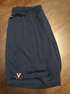 New-Virginia-UVA-Cavaliers-Men-039-s-Football-Team-Issued-Blue-White-Nike-Shorts-2XL