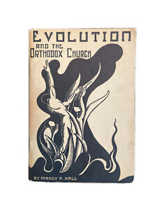 RARE-1936-Evolution-and-The-Orthodox-Church-Manly-P-Hall-PRS-occult-palmer-VTG
