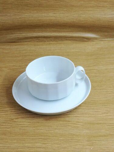 weiß Teetasse mit Unterteller Rosenthal Polygon Studio LInie